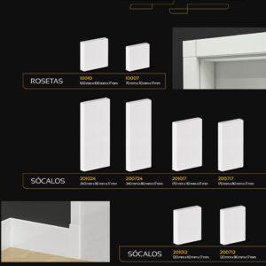 Arquitech - Sócalos e Rosetas