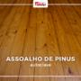 Assoalho de Pinus autoclave