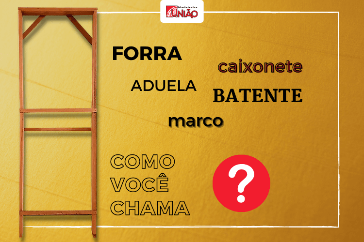 FORRA, BATENTE, MARCO, CAIXONETE OU ADUELA… Como você chama?